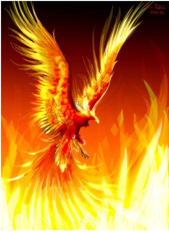 Be the phoenix